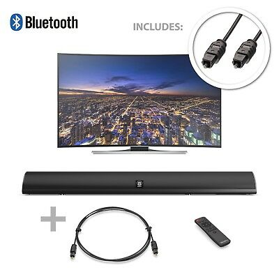 Majority 120W TV Sound Bar with Bluetooth & Optical - Piccadilly Special Offer