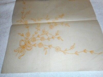 Vintage Embroidery Iron on Transfer - Deightons No.11808 - Flowers