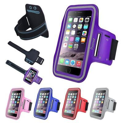 For Samsung Galaxy S8 S9 Sports Gym Armband Case Running Jogging Cover Holder