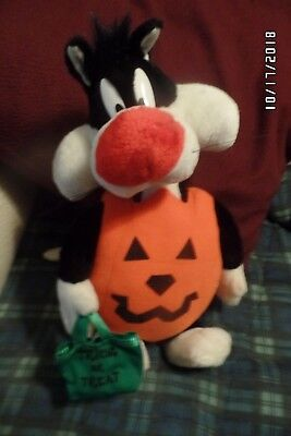 Looney Tunes Halloween Sylvester the Cat Plush