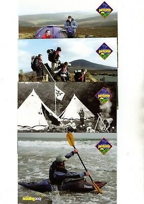 2007 Isle Of Man, Scouting Postcard Set From Collection H24
