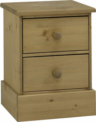 PAIR Balmoral Spray Wax 2 Drawer Bedside from Steens - LAST PAIR BARGAIN PRICE!