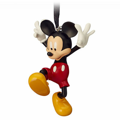 Disney Store 2018 Boxed Mickey Mouse Sketchbook Christmas Ornament