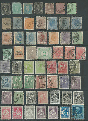 Rumania 1872-1957 (2 pages) from an old collection mostly good used (1004)