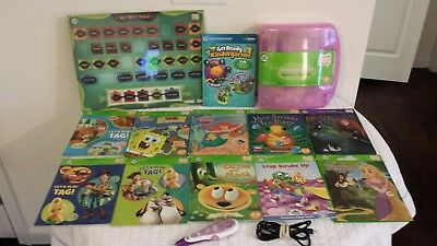 11 Leap Frog Tag Reader Books & Stylus Pen Interactive Reading System and more