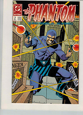 The Phantom #2 April 1989 DC