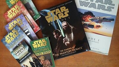 Star Wars The Phantom Menace Book Bundle.