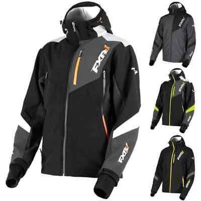 FXR Racing F19 Renegade Mens Softshell Sled Winter Sports Snowmobile Jackets