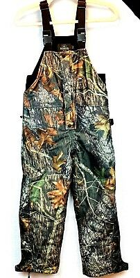 e699c263bde27 Youth Redhead Bib Insulated Thinsolate Overalls Camo Size M Medium Hunting  34X26
