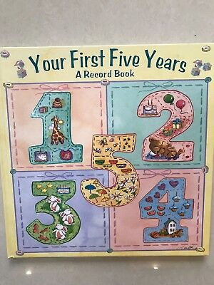 First Five Years Record Book. Baby to Five years. Brand New Hardback