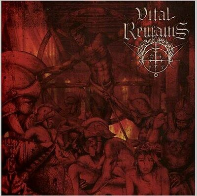 Vital Remains Dechristianize Sealed Cd New