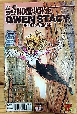 GHOST SPIDER 1 Spider Gwen 1st Appearance! Edge of Spider-Verse #2 Store Variant