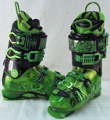 ce3cea55bc41d K2 Pinnacle 130 LV New Men s Ski Boots Size 25.5 - Has Tech Toe and Heel