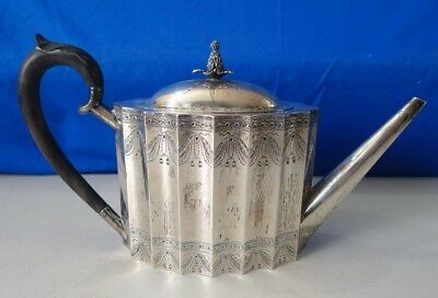 Sterling Silver Victorian Teapot