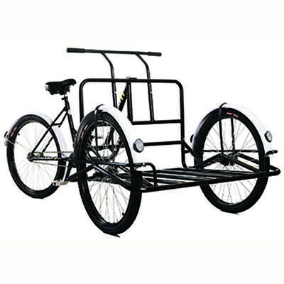 New and Improved Platform Cargo Tricycle by Bike Bug®