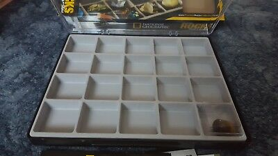 National Geographic precious rocks, gems and minerals Issue 3 display Box