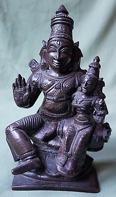 Antique Indian Bronze Figure, Buddha and Child?