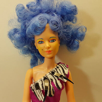 Vintage Jem and the Holograms Stormer Misfits Doll With Outfit 1985 Hasbro VGC