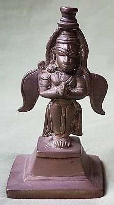 Antique Indian Bronze Figure of double sided God