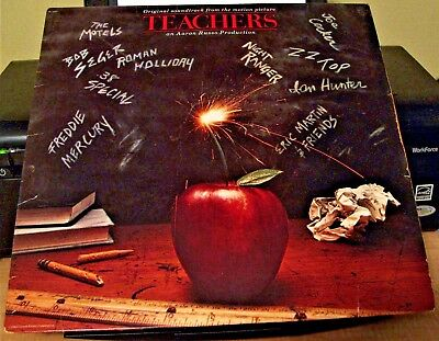 "Original Soundtrack From The Motion Picture ""Teachers"" EUC"