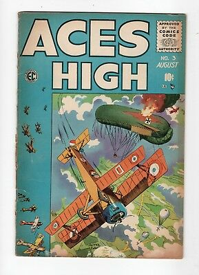An Entertainment Comic Aces High No 3 July - August 1955