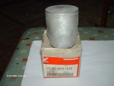 NOS HONDA  PISTON  STANDARD  CR125 1987  13101-KS6-702