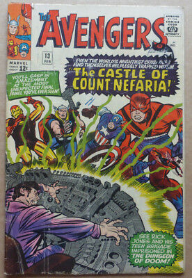 The Avengers #13, Classic Silver Age Marvel From 1965.