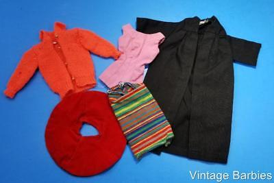 Barbie Doll Mixed Clothing Lot #1 Excellent ~ Vintage Mod 1960's
