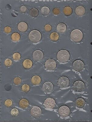 Hong Kong Lot old Coins 1932-1995 from Coins-Collection