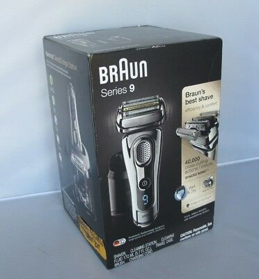 BRAUN Series 9 9295cc Wet & Dry Men's Electric Shaver Chrome