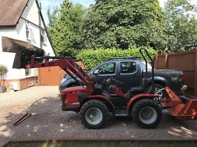 antonio carraro 4400hst 4x4 Compect Alpine Forestry Tractor Lewis Power Loader