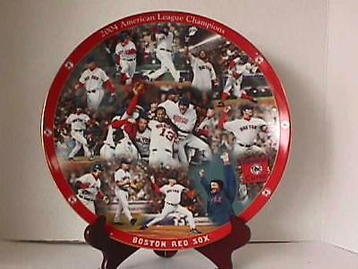 2004 Boston Red Sox WS & ALCS Collector's Plate Set - Danbury Mint