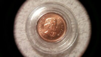 2006 P Rare Bu Magnetic Canadian Maple Leaf Cent- Very Nice !!! - Lqqk !!!