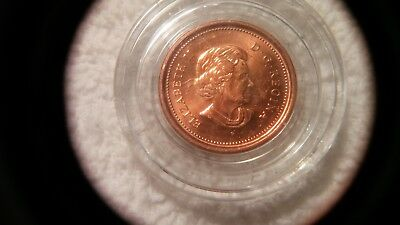 2006 P Rare Au Magnetic Canadian Maple Leaf Cent- Very Nice !!!- Lqqk !!!