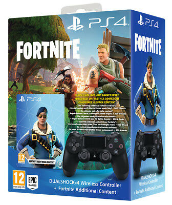 SONY Playstation 4 PS4 Controller Dualshock 4 V2 + Fortnite Voucher