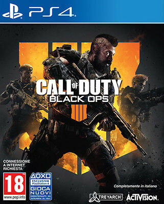 Call Of Duty Black Ops IIII 4 PS4 Playstation 4 ACTIVISION BLIZZARD