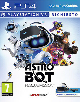 Astro Bot Rescue Mission (VR Richiesto) PS4 Playstation 4