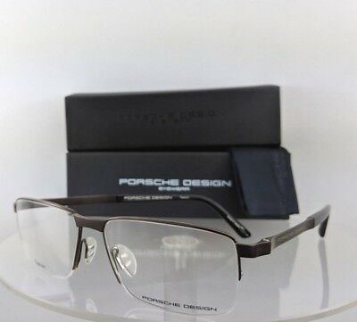 fd246d1de1763 New Authentic Porsche Design P 8251 D Eyeglasses Titanium P 8251 Brown Frame