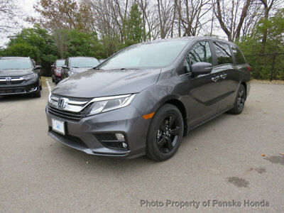 2019 Honda Odyssey EX-L Auto with Black Wheels and Splash Guards EX-L Auto with Black Wheels and Splash Guards New 4 dr Van Automatic Gasoline 3.