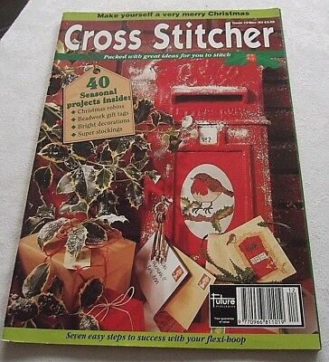 A Cross Stitcher Magazine Only (No Free Gift) December 1993 Issue 13
