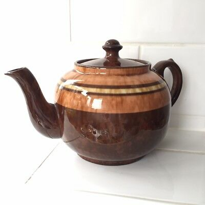 Vintage Brown Betty Teapot Perfect Condition