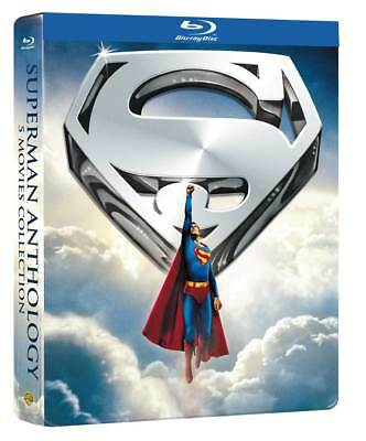 Superman Anthology (Limited Steelbook) (5 Blu-Ray) WARNER HOME VIDEO