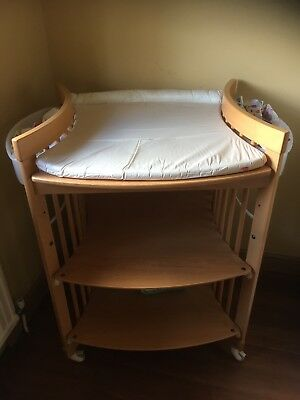 stokke changing table - converts to toddler table.