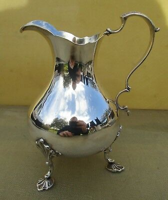 Antique Victorian Sterling silver milk jug, 150 grams, 1849, WRS