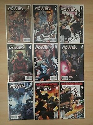 Ultimate Power #1-9 ALL NM 9.4 MARVEL COMICS SQUADRON SUPREME BENDIS LAND