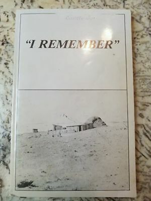 rare book Gillette Wyoming I Remember autographed WY History 1977 PRICE REDUCED