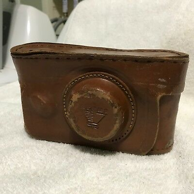 Vintage Argus C-3 Rangefinder 35mm film camera leather case CINTAR lens