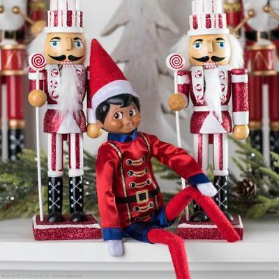 NEW 2018 Elf On The Shelf Claus Couture Sugar Plum Soldier Outfit CCSOLDIER