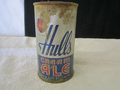 Very Scarce- Hulls Cream Ale Flat Top Can
