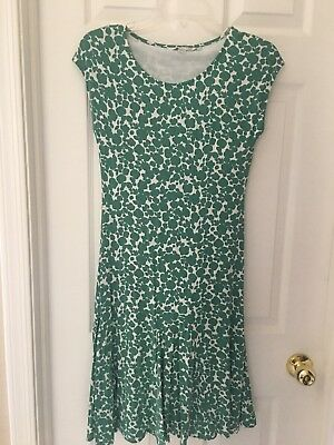 d96e01cb034 Boden Dress Us 4 Uk 8 Green Clover
